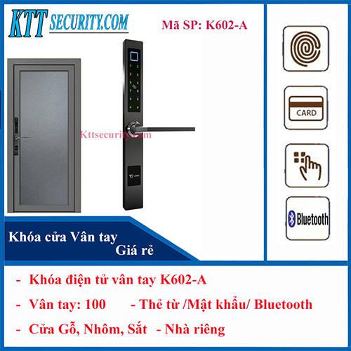 Khóa điện tử vân tay K602-A