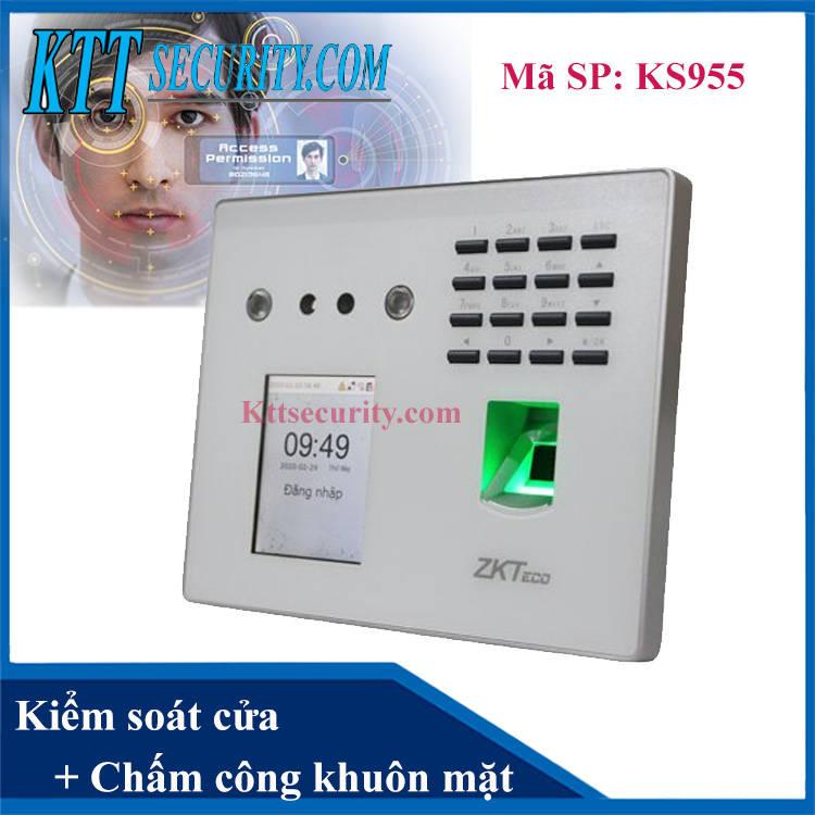 khóa cửa nhận diện khuôn mặt Zkteco MB-40VL ks955