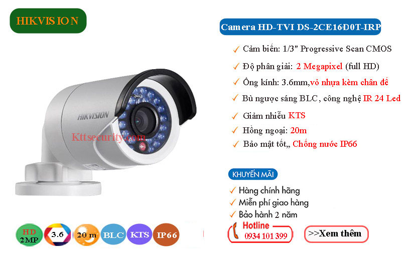 Camera-Hikvision-2MP-HD-TVI-DS-2CE16D0T-IRP