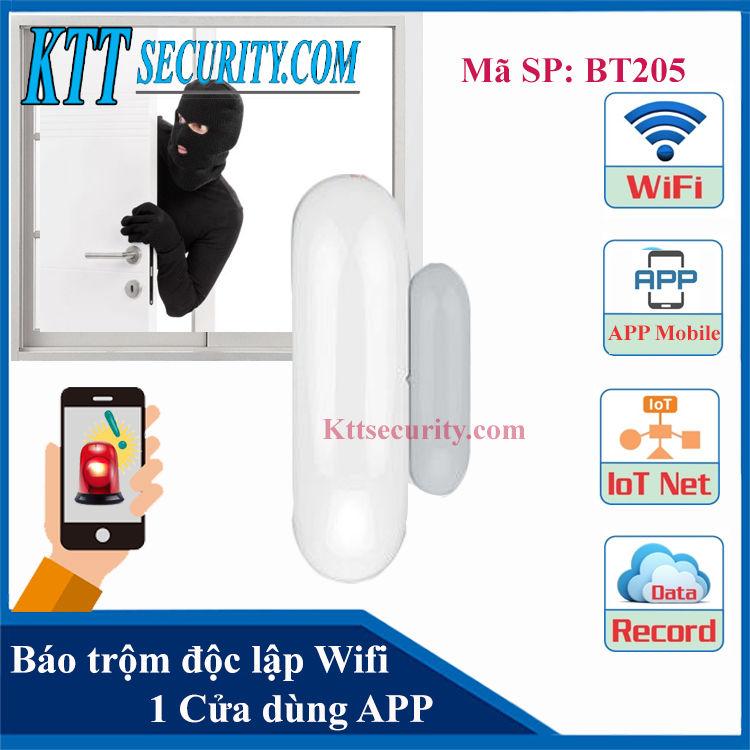 Báo động cửa Độc lập Wifi | BT205