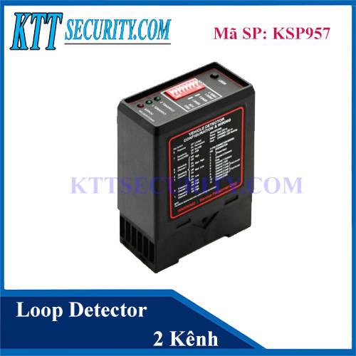 Bộ dò vòng từ 2 kênh | Loop detector | KSP957