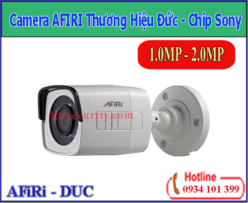 Camera AFIRI Chip Sony 1MP [HDA-B111MT]-2MP[HDA-B211M]