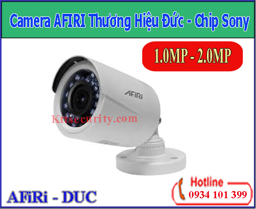 Camera AFIRI Chip Sony 1MP [HDA-B111PT]-2MP[HDA-B211P]