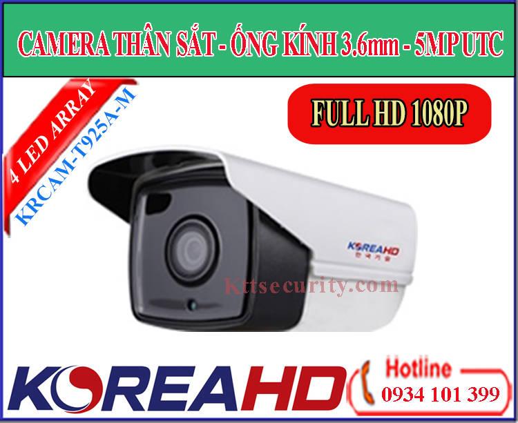 Camera ahd KoreaHD KRCAM-T925A-M | CAM-T823A-M