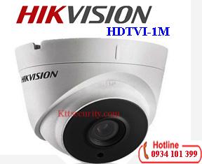 Camera dome Hikvision 1MP HD-TVI DS-2CE56C0T-it3