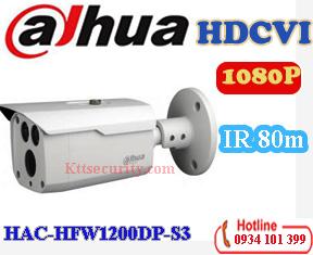 Camera HDCVI 1080P Dahua HAC-HFW1200DP-S3