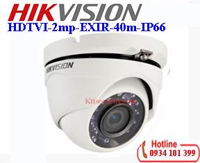 Camera HDTVI 1080p Hikvision DS-2CE56D0T-IRM