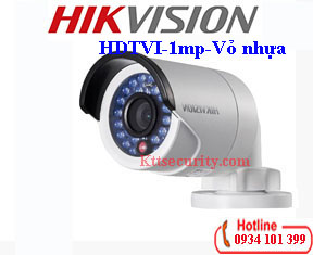 Camera HDTVI Hikvision 1MP DS-2CE16C0T-IRP