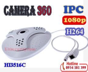 Camera IP 1080P toàn cảnh HI3516C