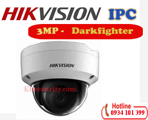 Camera ip darkfighter 3Mp Hikvision DS-2CD2135FWD-I