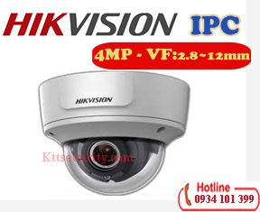 Camera ip Dome hồng ngoại 4MP Hikvision DS-2CD2743G0-IZS