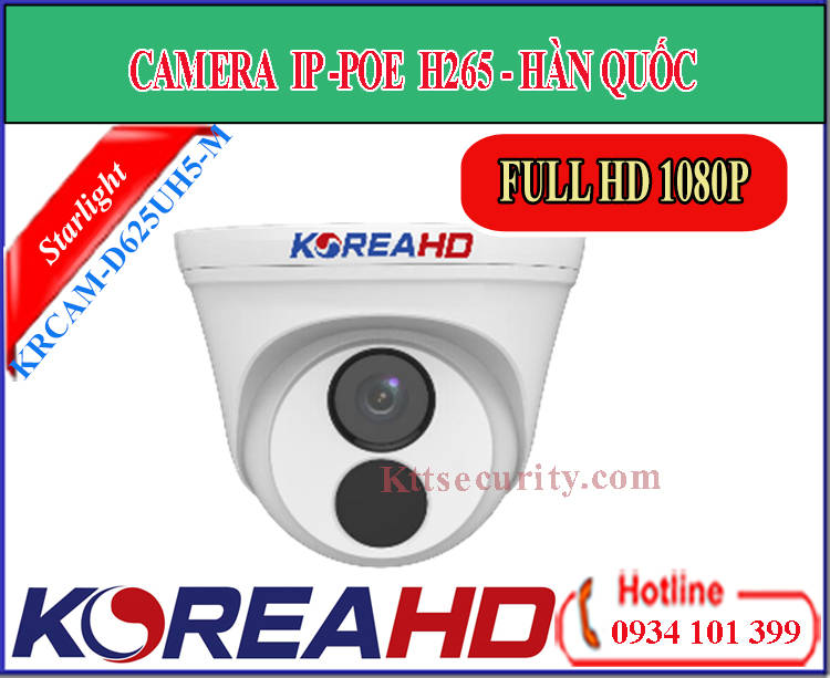 Camera ip KoreaHD KRCAM-D625UH5-M | KRCAM-T325UH5-M