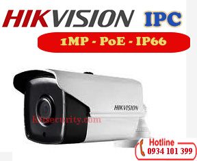 Camera ip PoE 1MP Hikvision DS-2CD1201-I3