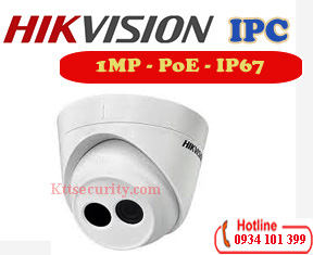 Camera IP PoE 1MP HIkvision DS-2CD1301-I