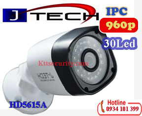 Camera IP thân 960P J-Tech HD5615A