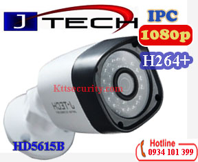 Camera IP thân H264+ 2MP J-Tech HD5615B