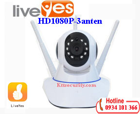 Camera Ip wifi 1080P LiveYes 3 Râu CS-017L