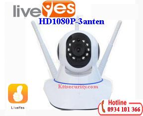 Camera Ip wifi 1080P LiveYes 3 Râu CS-017L