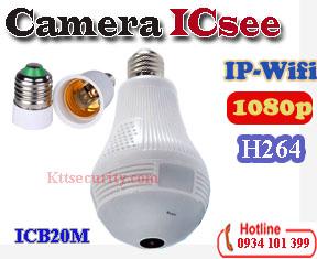 Camera ip wifi bóng đèn ICSEE