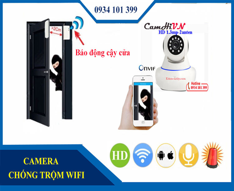 Camera IP WIFI CamHiVN 1.3MP/960P
