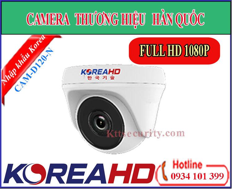Camera KoreaHD CAM-D120-N | CAM-D120-S (HDTVI)