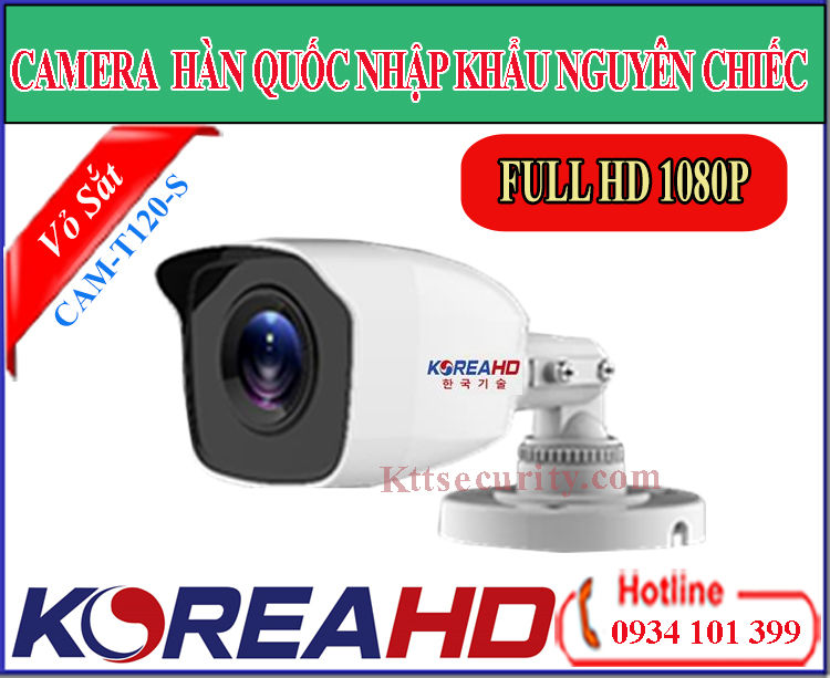 Camera KoreaHD CAM-T120-S | CAM-T220-S (HDTVI)