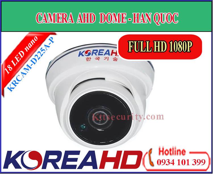 Camera KoreaHD KRCAM-D225A-P | KRCAM-D325A-P (AHD)