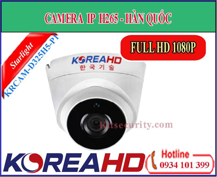 Camera IP KoreaHD KRCAM-D325H5-P1 | KRCAM-D125H5-M1