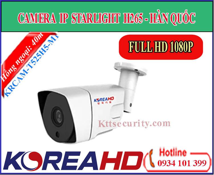 Camera IP KoreaHD KRCAM-T525H5-M1 | KRCAM-T625H5-M1