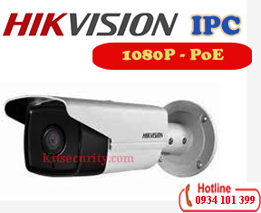 Camera thân IP 2MP Hikvision DS-2CD2T23G0-I8,120dB