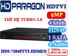 Đầu 4 kênh 5MP HDS-7204FTVI-HDMI/S và 8 kênh HDS-7208FTVI-HDMI/SE va HDS-7208FTVI-HDMI/S và 16 kênh HDS-7216FTVI-HDMI/S