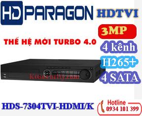 Đầu 4 Ổ CỨNG 4 kênh HDS-7304TVI-HDMI/K và 8 kênh HDS-7308TVI-HDMI/K và 16 kênh HDS-7316TVIHDMI/K