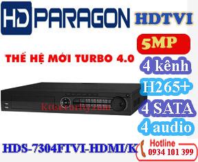 Đầu 4 SATA 4 kênh HDS-7304FTVI-HDMI/K và 8 kênh HDS-7308FTVI-HDMI/K và 16 kênh HDS-7316FTVI-HDMI/K