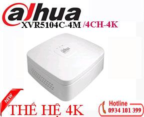 Đầu ghi 4K Dahua XVR5104C-4M