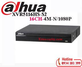 Đầu ghi hình 16 kênh 5in1 Dahua XVR51016HS-S2