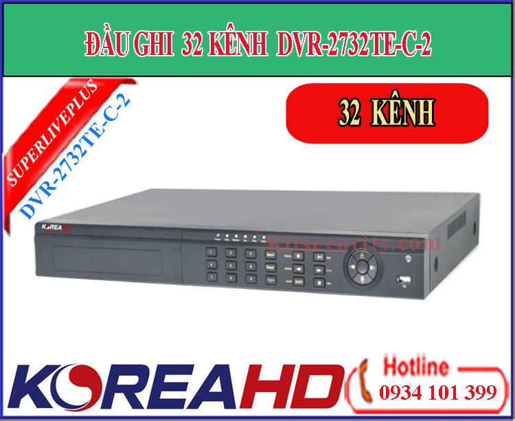 Đầu ghi hình 32 kênh Koreahd DVR-2732TE-C-2 (AHD)