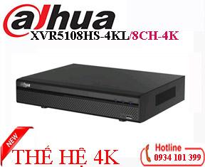 Đầu ghi hình 8 kênh 4K Dahua XVR5108HS-4KL