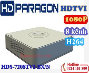 Đầu ghi hình 8 kênh TVI HDPARAGON HDS-7208TVI-BX/N
