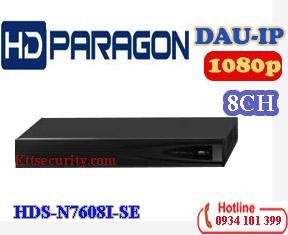 Đầu ghi hình IP 8 kênh 1080P HDPARAGON HDS-N7608I-SE