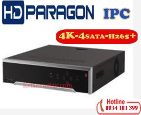 Đầu Ip 4K HDparagon HDS-N7716I-4K,16 kênh; HDS-N7732I-4K,32 kênh;HDS-N7716I-4K/P 16 kênh PoE;