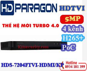 Đầu PoC 4 kênh HDS-7204FTVI-HDMI/KP và Đầu 8 kênh HDS-7208FTVI-HDMI/KP