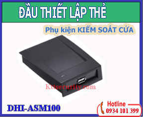 Đầu thiết lập thẻ DHI-ASM100