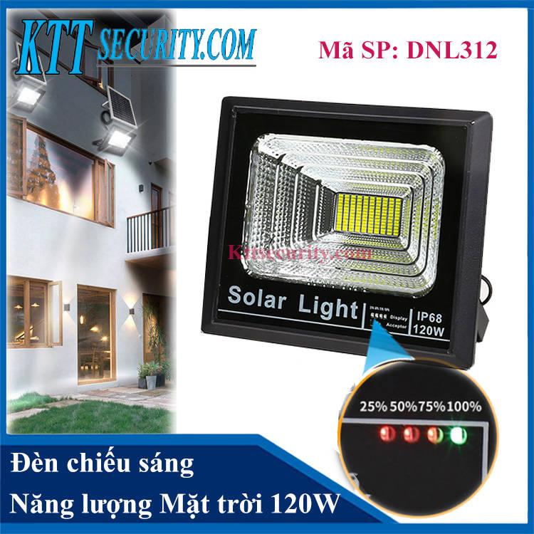 Đèn chiếu sáng năng lượng mặt trời 120W | DNL312