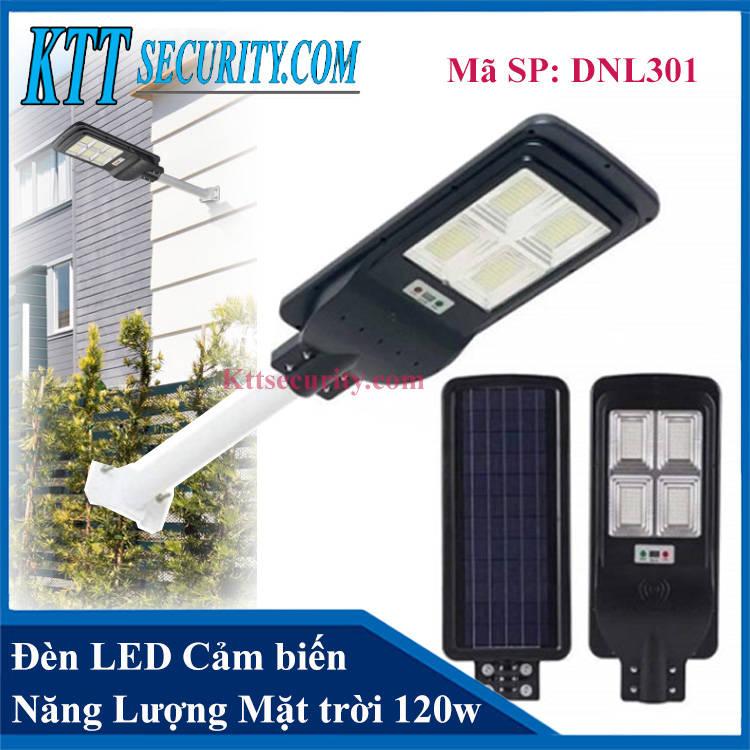 Đèn led cảm biến năng lượng mặt trời 120W | DNL301