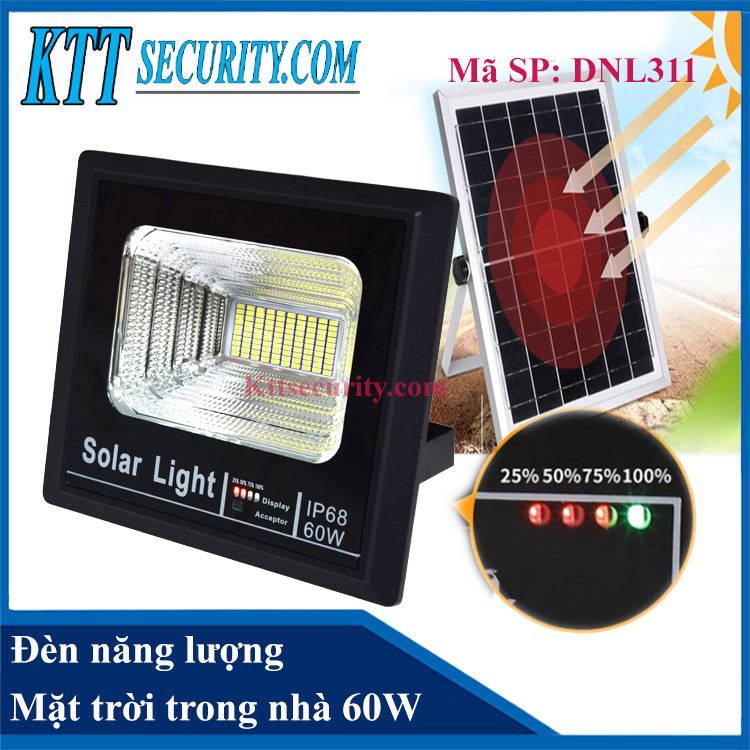 Đèn năng lượng mặt trời trong nhà 60W | DNL311