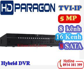 HYBRI HDS-H9008IP-TVI 8 kênh & HDS-H9016IP-TVI 16 kênh