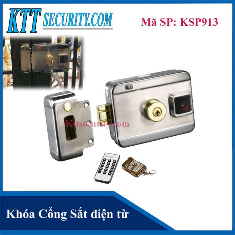 Khóa Cổng Sắt điện từ | KSP913