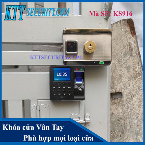 Khóa Cổng thông minh | KS916