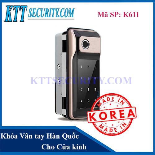 Khóa Cửa Vân tay Hàn Quốc K611