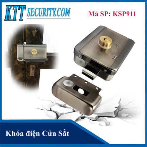 Khóa điện Cửa Sắt | KSP911